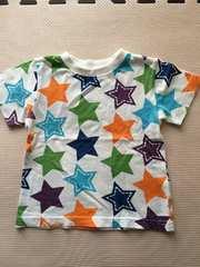 星柄Tシャツ90☆美品