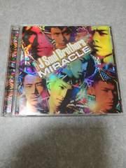 三代目J Soul Brothers MIRACLE CD &DVD