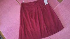 未使用品ZOLAfemmeW67ラメ入りレッドふんわりスカート