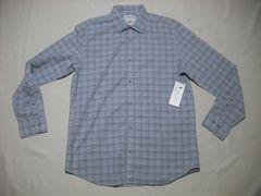 fy917 男 CK CALVIN KLEIN カルバンクライン チェックシャツ M