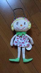 未使用カーリーコレクション 人形おさいふバック27センチ