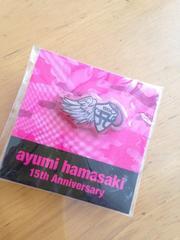 新品  TA限定  浜崎あゆみ  15th Anniversary ピンズ