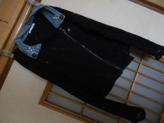 黒レースジャケット風ブラウス☆クリックポスト164円
