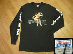 HAEDCORE CHOPPERSハードコアチョッパーズM長袖Tシャツ黒