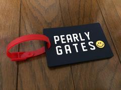 新品未使用パーリーゲイツPEARLY GATESネームタグ