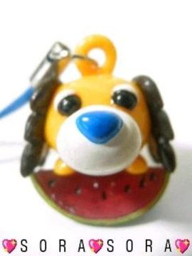 【お茶犬】可愛い♪携帯ストラップ�A