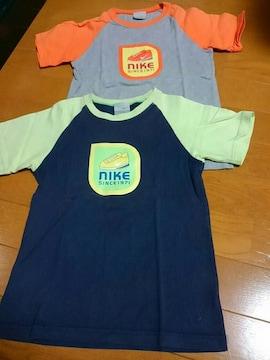 ☆USED☆ナイキ☆半袖Tシャツ☆2枚セット☆ 120