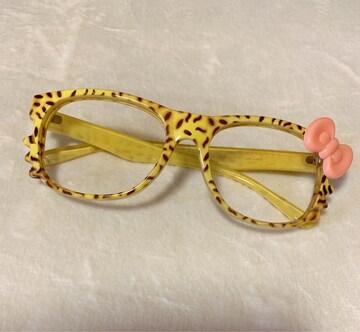 キティちゃん*メガネフレーム*眼鏡