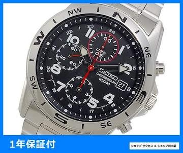 新品 即買い■セイコー SEIKO クロノグラフ 腕時計 SND375P1