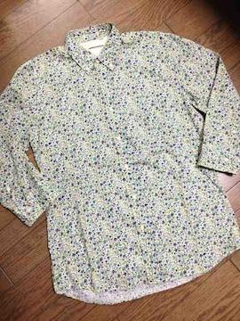 美品CIAO PANIC 小花柄シャツ 日本製  チャオパニック
