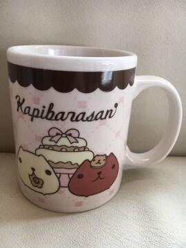未使用!カピバラさんかわいいマグカップ