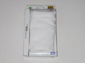 DS★ニンテンドーDS Lite専用ケース ホワイト ライトスリッポン