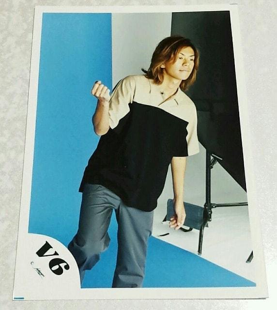 V6 森田剛★生写真  < タレントグッズの
