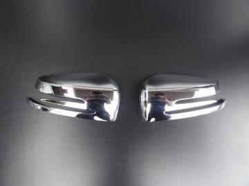 クロームメッキドアミラーカバー ベンツ W204 後期タイプ