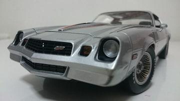 GreenLight/'78 Chevyシボレー Camaroカマロ Z28 銀 1/18