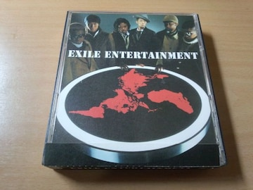 EXILE CD「ENTERTAINMENT」初回盤DVD付き●