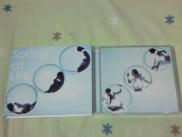 CD+DVD Perfume Spring of Life 初回限定盤