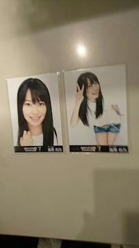 AKB48 19thシングル選抜じゃんけん大会 生写真 指原莉乃2枚