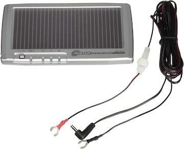 セルスター ソーラーバッテリー充電器