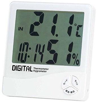人気急上昇! 温度湿度計 デジタル温湿度計