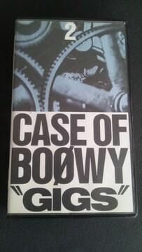 """当時物/中古ビデオ【BOOWY/""""GIGS""""CASE OF BOOWY�A】ボウイ/氷室京介"""