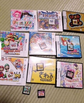 DS、3DSソフト(*´∇`)セット☆
