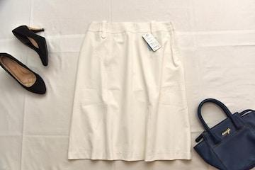 新品タグ付きLサイズ 大人可愛い膝丈スカート ニッセン♪