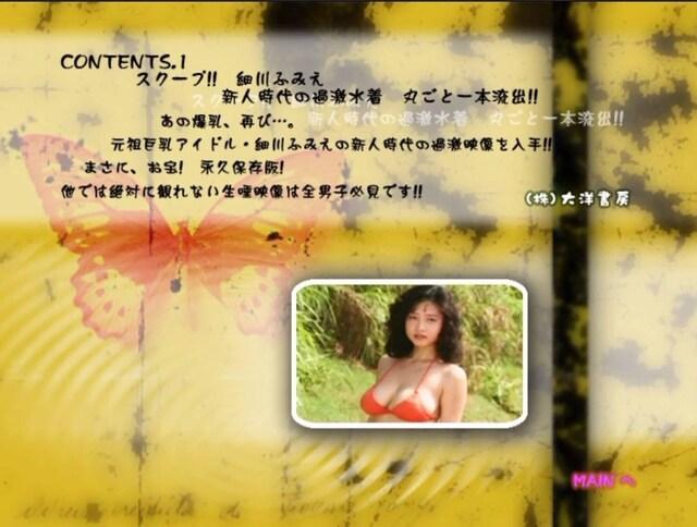 細川ふみえ DVD < タレントグッズの