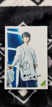 欅坂46/長濱ねる 永谷園カード