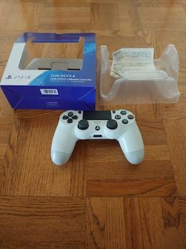 PS4 純正コントローラーホワイト ジャンク