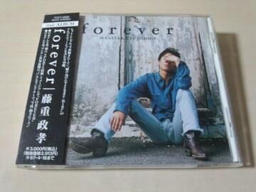 藤重政孝CD「forever」廃盤●