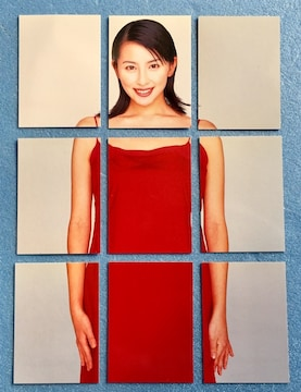 BOMB ボム 奥菜恵 パズル カード 9枚 コンプ セット トレカ
