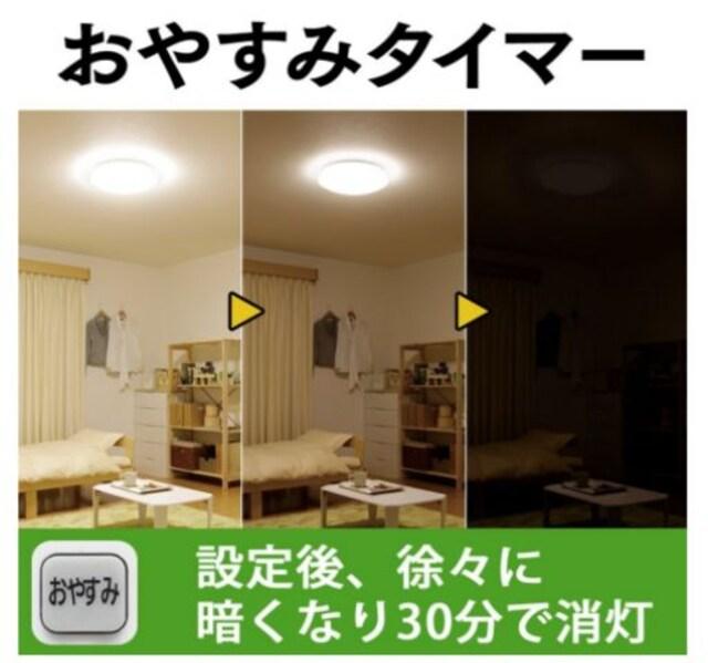 LED シーリングライト 調光 タイプ ~12畳 < 家電/AVの