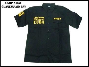 XXXXLストリーローライダーチカーノ系 新品 品刑務所ワークシャツ CUBA (4XL)