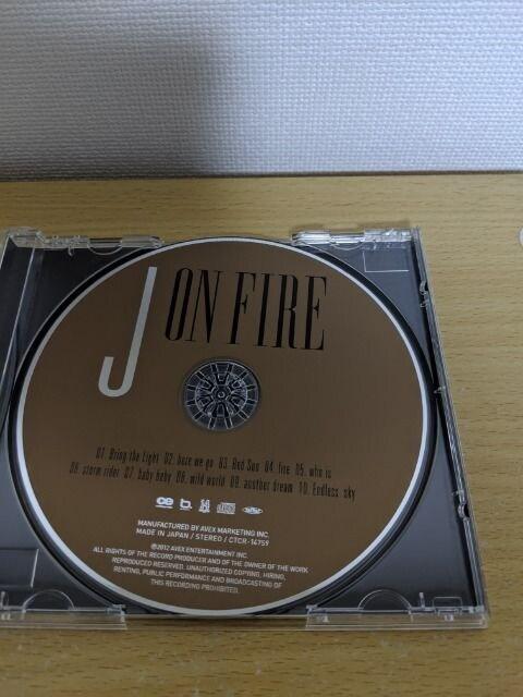 J(LUNA SEA/ルナシー)「ON FIRE」 < タレントグッズの