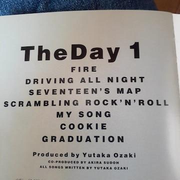 尾崎豊 THE DAY vol 1 CD アルバム