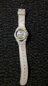 baby-G 腕時計 100m防水 電池切れ状態 ベルト生地剥がれあり