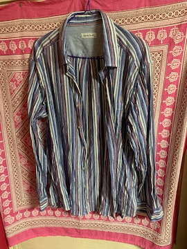 パステルストライプ☆シャツ★サイズ3L