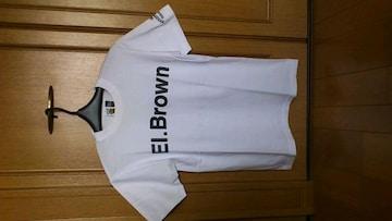 訳あり激安96%オフ非売品、アメカジ、エルブラウン、Tシャツ(白、M)