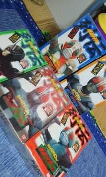 仮面ライダー列伝5種セット石ノ森章太郎監修1992年当時物