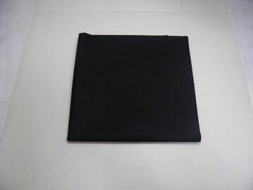 メール便 カラー生地 黒 1メートル 綿100%