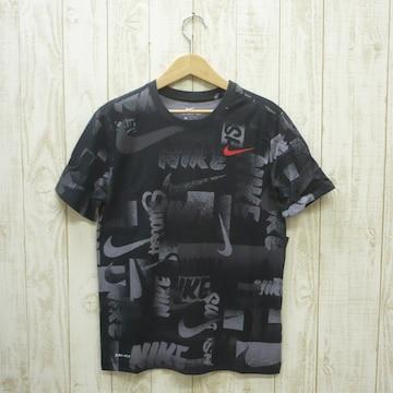 即決☆ナイキ特価ロゴ半袖Tシャツ BLK/Mサイズ 新品 ドライ
