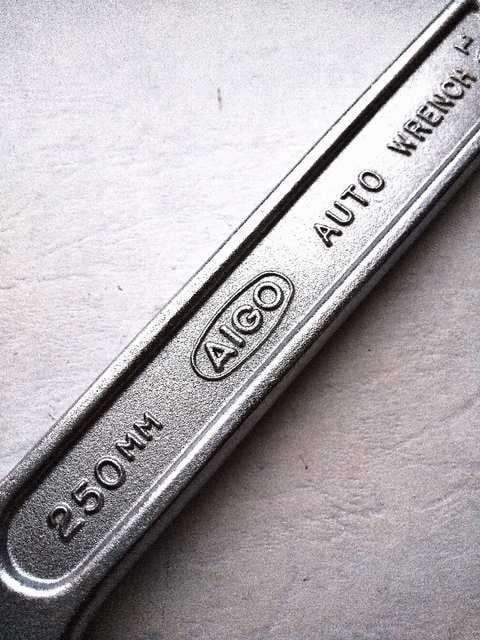 相伍工業  Autowrench  オートレンチ  AIGO     L250  特殊モンキーレンチ < ペット/手芸/園芸の