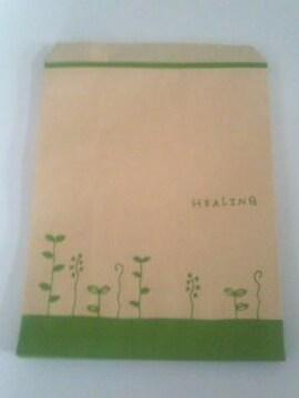 R50サイズ平袋☆ハーブリーフ★A5が入る紙袋20枚