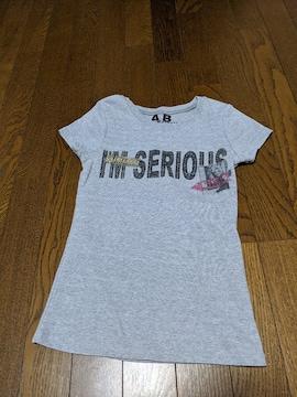 セシルマクビー/Tシャツ/半袖/灰色/Sサイズ同等