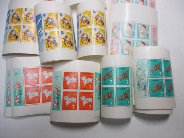 年賀切手シート5種25枚セット 未使用 お年玉郵便切手  < ホビーの