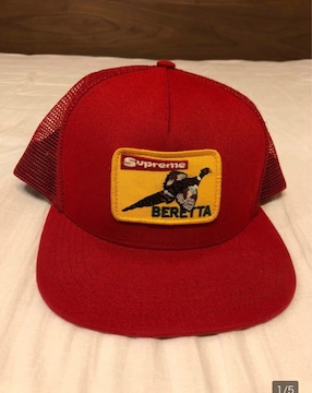 supreme red cap snap back