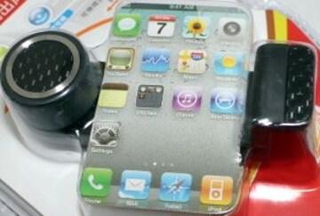 スマートフォンフォルダーtype2  iPhone エアコン送風口に装着