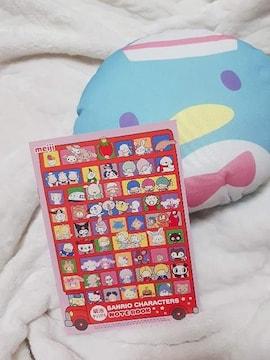 サンリオキャラクターノート&タキシードサムミニクッション♪