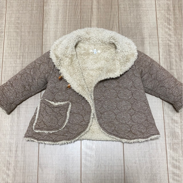 Seraph女の子kids暖か可愛いコート90  < ブランドの
